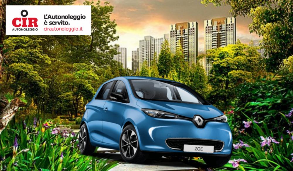 Renault Zoe, libertà di movimento con CIR Autonoleggio